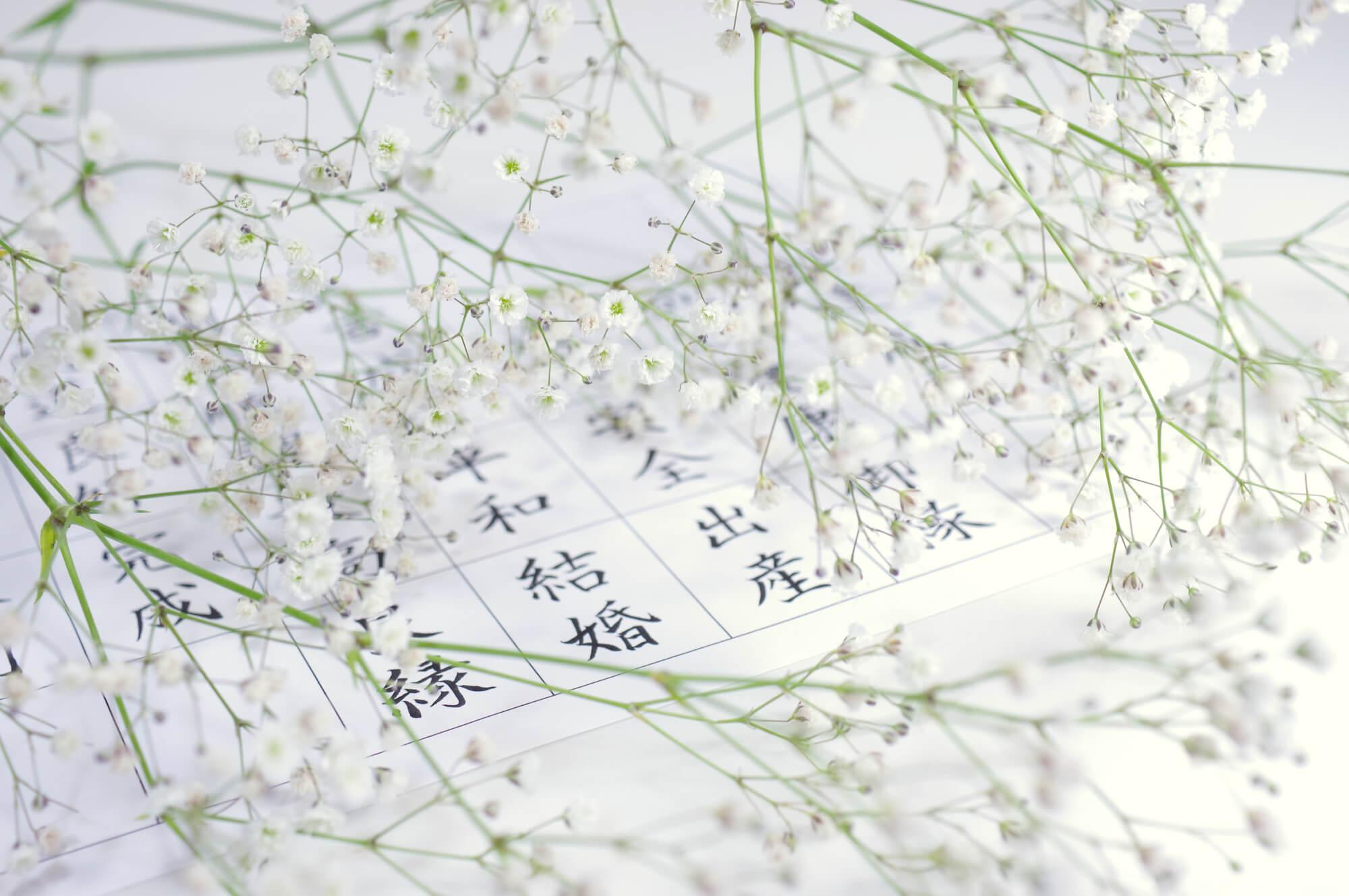 漢字一文字占い