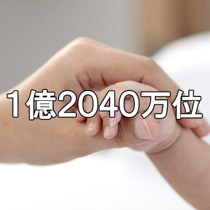 1億2040位
