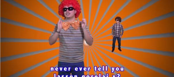 8.6秒バズーカの『ラッスンゴレライ』の英語版が人気沸騰中!
