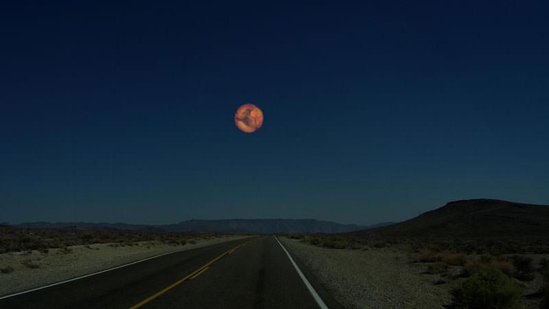 地球から見た火星