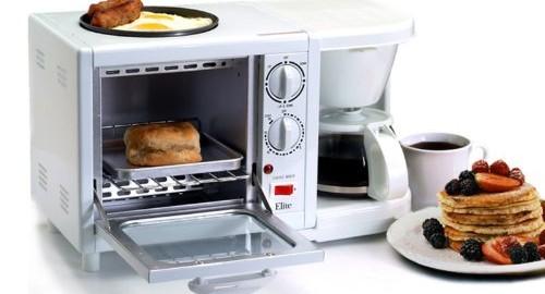 【3つの機能が1つに!】ハイブリッド朝食マシーン「Breakfast Center」