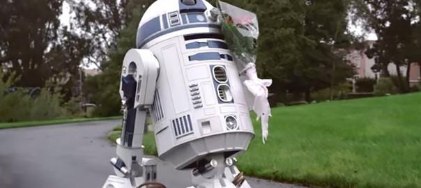 『スターウォーズ』R2-D2が可愛いあの子に一目惚れ (3:30)