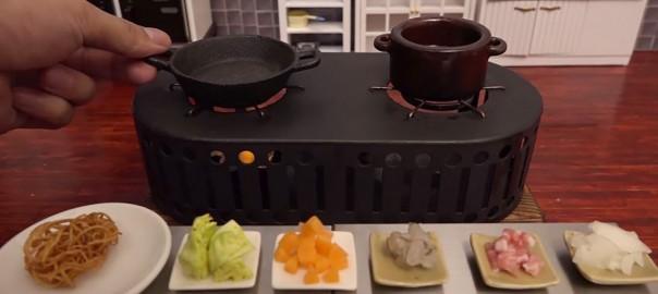 超小さなキッチンで作った「あんかけ焼きそば」にヨダレが止まらない (6:24)
