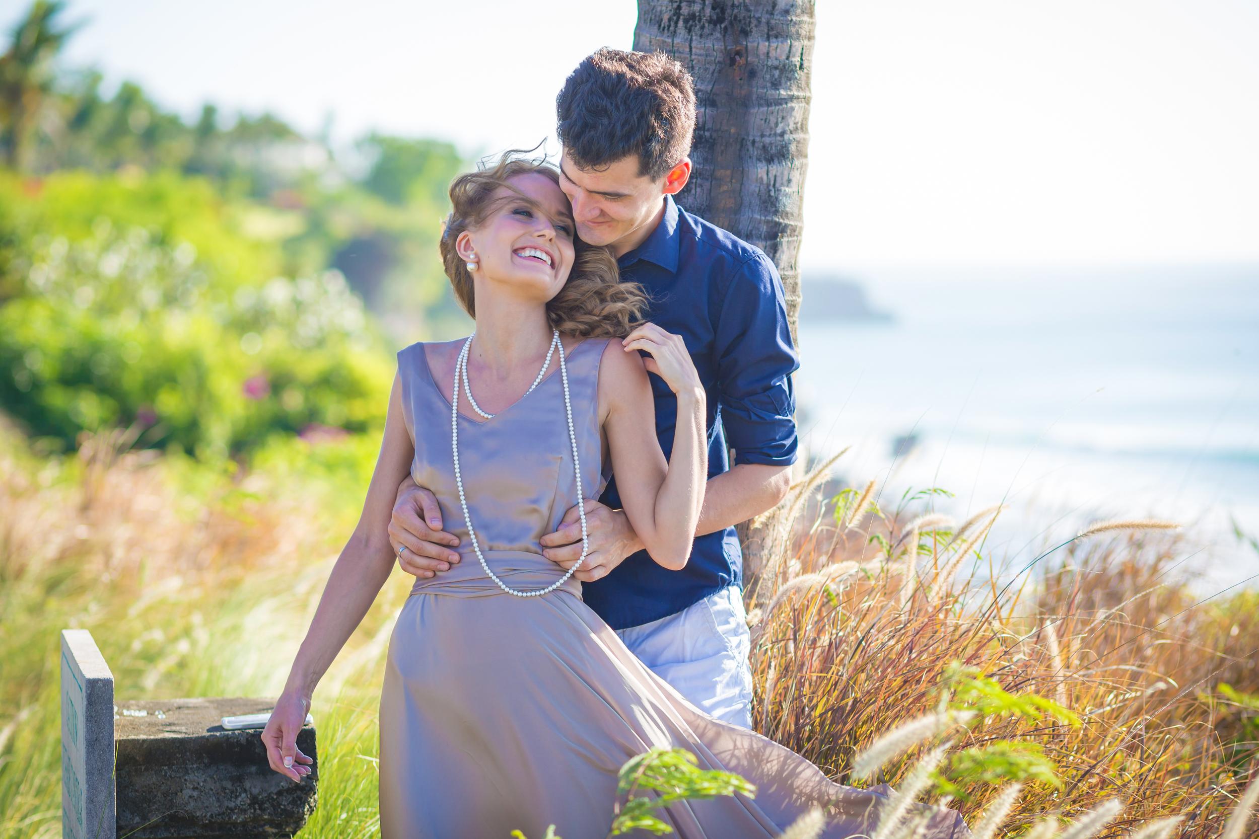 Young Happy Wedding Couple