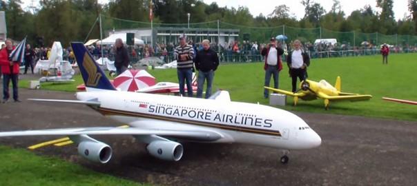超リアル!本物の飛行機を忠実に再現したラジコンに憧れる