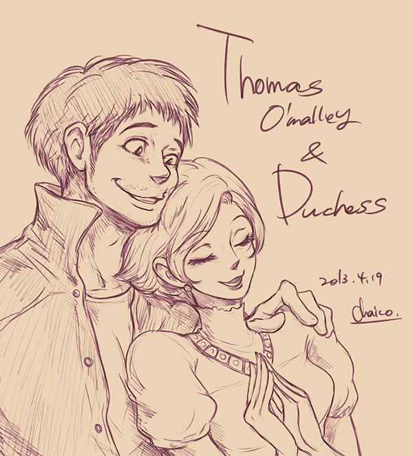 thomas_and_duchess_by_chacckco-d628fhg