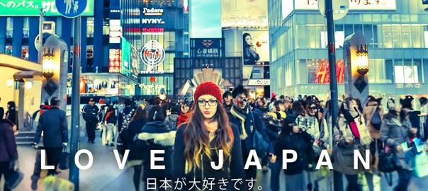 日本に生まれてよかった!海外の人が作った動画「LOVE JAPAN」が美しい