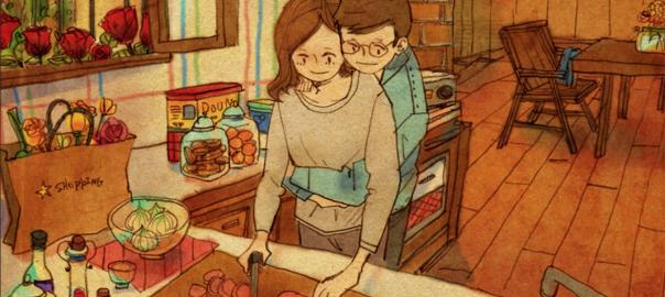 【幸せは日常の中に】日々の何気ない瞬間を描いたイラストに心温まる