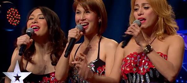 【超絶パフォーマンス】オーディション番組に出演した美女3人の秘密に驚愕