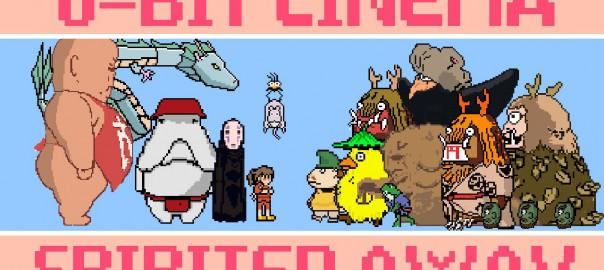 もしも『千と千尋の神隠し』がゲームだったら・・・。ドットで描かれた世界に脱帽!