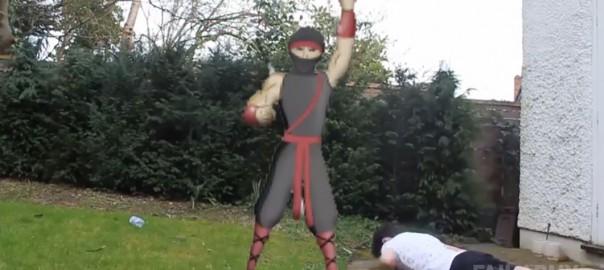 忍者のしわざかもしれないゾ!忍者が人間に悪さするハプニング映像