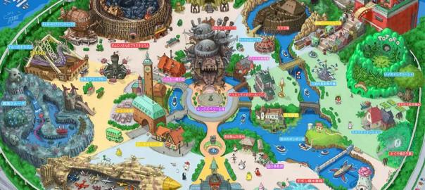 ジブリが遊園地に?!  ファンが描いた「東京ジブリーランド」にウキウキする(画像11枚)