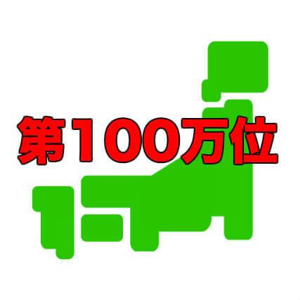 100万位