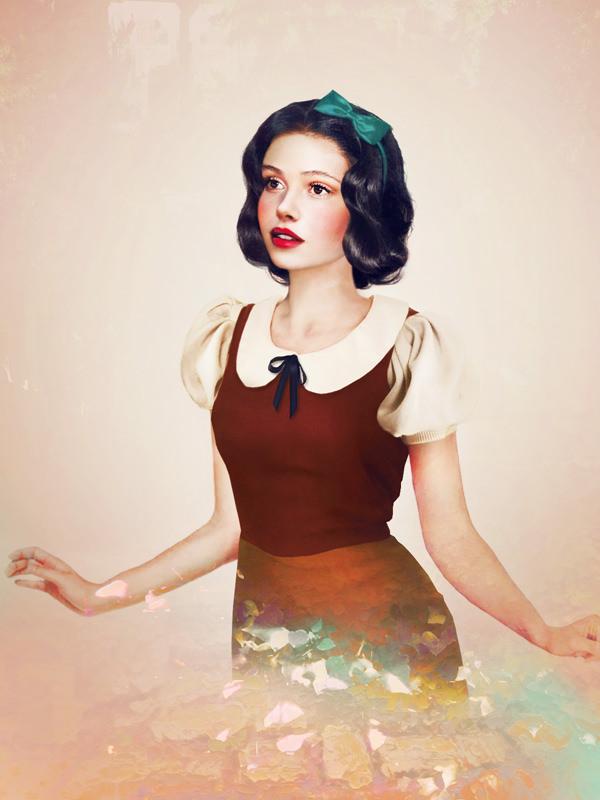 現実の白雪姫