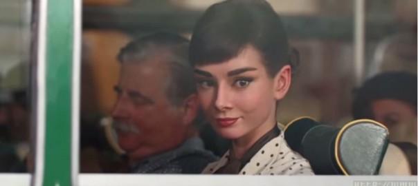 伝説の名女優オードリー・ヘップバーンが、CGで現代に蘇る!