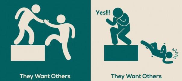 一目瞭然!成功する人と成功しない人の「シンプルな」違い(画像7枚)
