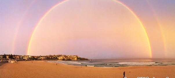 こんなの見たことない!美しすぎる「二重の虹」がシドニーで撮影される