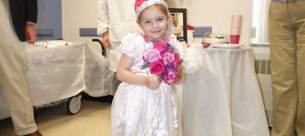 白血病を患う4歳の少女。世界で50,000回シェアされた小さな恋の物語