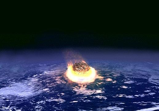 隕石の衝突