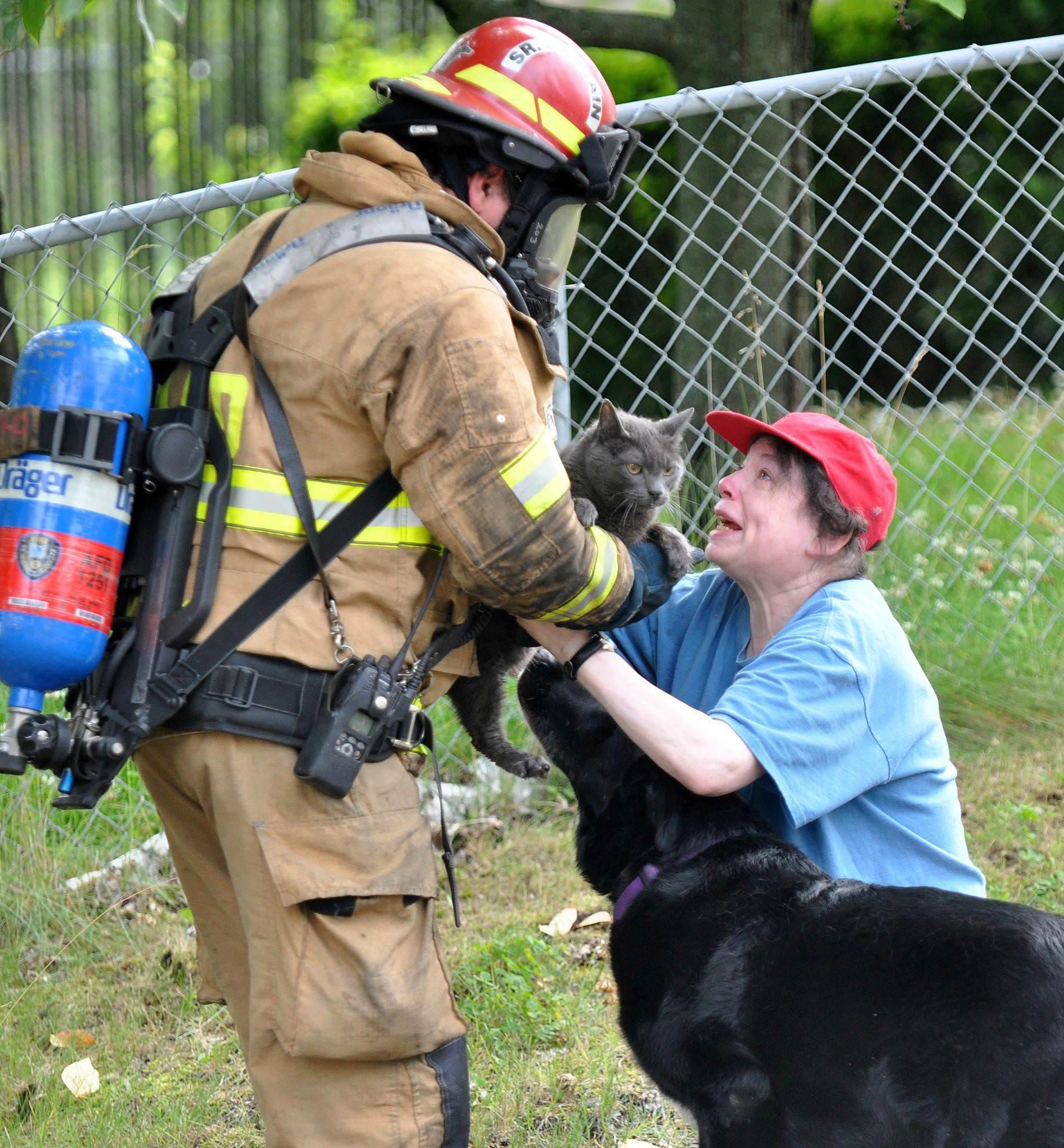 猫と消防士とご主人