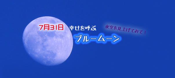 7月31日は夜空を見上げてみて!今夏は幸せを呼ぶ「ブルームーン」が見れる