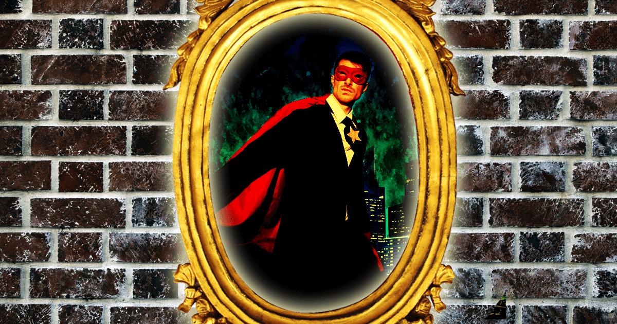正義のヒーロー