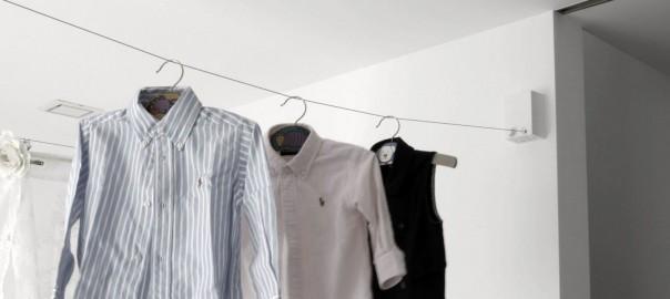 雨の日の洗濯が楽しみ!スタイリッシュな「部屋干しワイパー」が欲しい