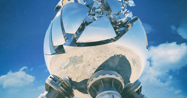【SF好き必見!】未来の世界を描いた風景画に心を奪われる
