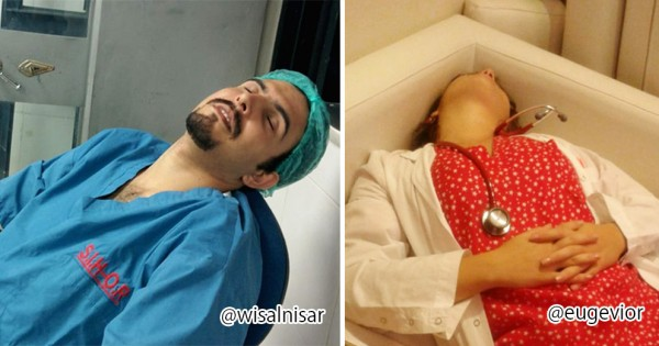 医者だって眠いんだよ!仕事が大変すぎて寝落ちしてしまった医師&看護師9選