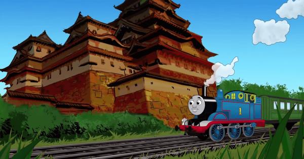 【電車と競争】きかんしゃトーマスが日本を旅するアニメーションに和む
