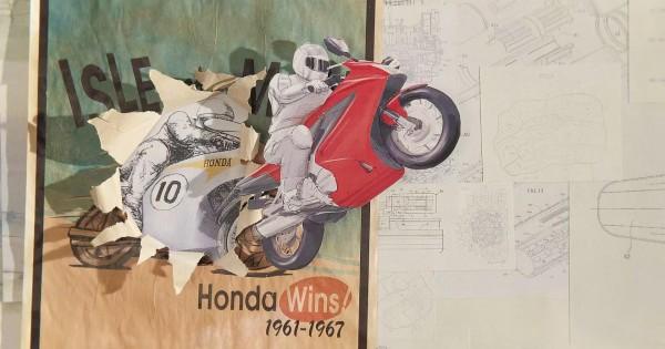 【海外で話題】日本企業ホンダの歩みを紙で表現したアニメーションが芸術的