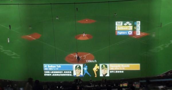 【選手データも一目瞭然】スマートグラスで未来的な野球観戦が実現!