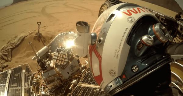 【宇宙農業?】火星で孤独に畑仕事をする男性をGoProで撮影