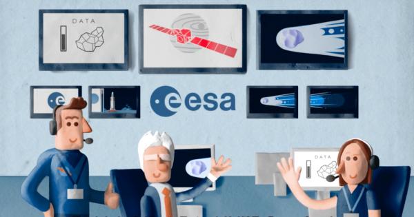 【可愛いのに壮大】彗星調査ミッションを絵本のように学べる動画にワクワクする