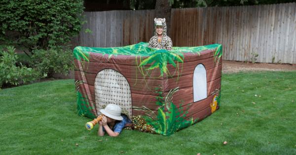 【子ども大喜び!】たった2分で完成する秘密基地で自分だけの隠れ家を作ろう