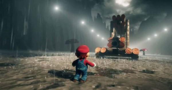 迫力満点!「スーパーマリオブラザーズ」のステージをマリオ視点でフルCG化した動画