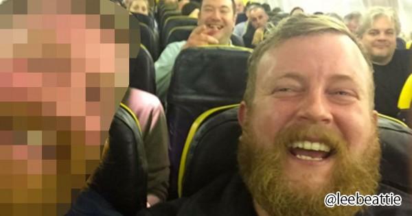 【超偶然の激似】たまたま飛行機で隣に座った人が、自分と全く同じ顔だった