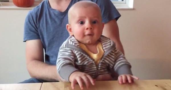これは思いつかない!赤ちゃんの動きにピアノの音を合わせた動画がかなりユニーク