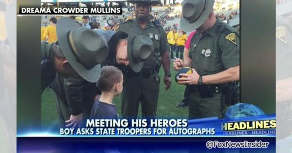 子どもってやっぱり凄い!少年がサインを求めたのはスポーツ選手ではなく警備員だった