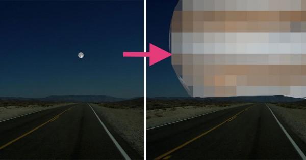 【月の位置に木星があったらこう見える】太陽系のデカさがよくわかる7枚の画像