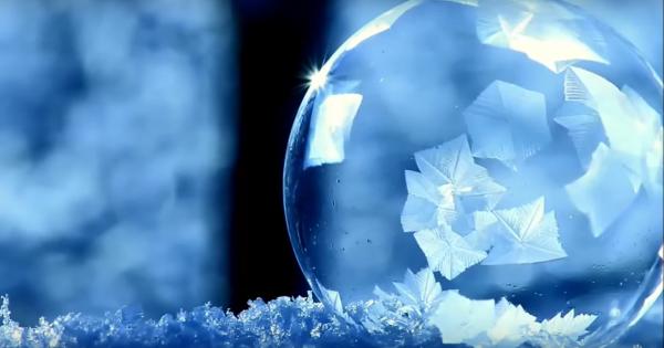 氷点下の奇跡!まるで魔法のように凍りつく「シャボン玉」の美しさに息をのむ
