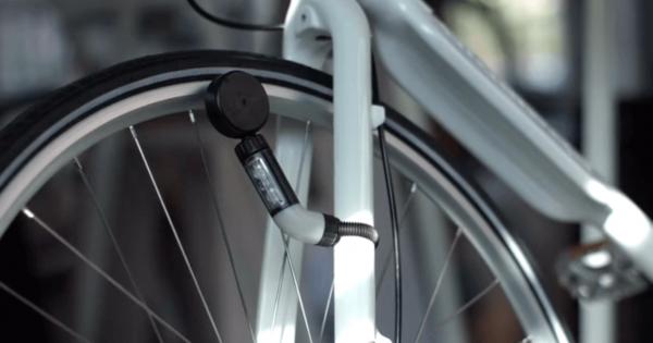 タイヤに触れずに電気が点く!電池いらずの自転車ライトが実現