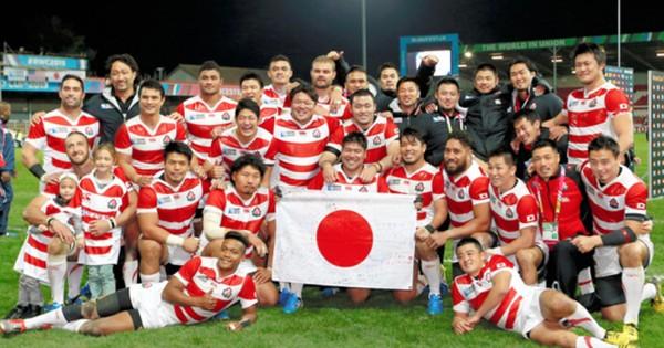 ラグビー日本代表、南アフリカ戦の奇跡の勝利が「W杯史上最高の瞬間」に選ばれる