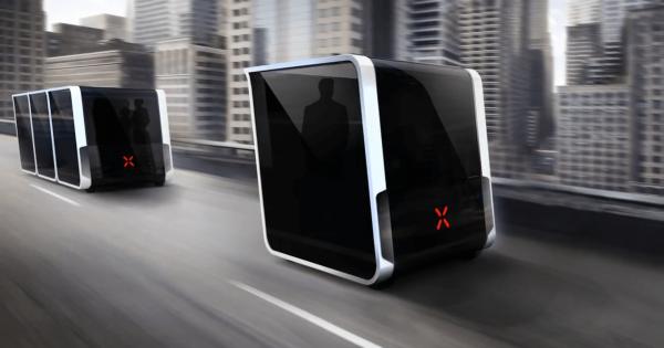 【運転中に連結も出来る】未来的な箱型の自動車がクールすぎる!