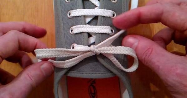 明日から使ってみたくなる!靴ひもが解けにくくなる簡単で便利な結び方