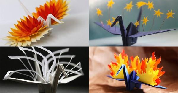 折り紙が世界で進化!海外アーティストが毎日投稿する「折り鶴」の美しさに心打たれる