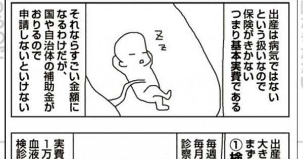妊婦さんは想像以上に大変だ!「出産費用」を描いたマンガにいろいろ考えさせられる