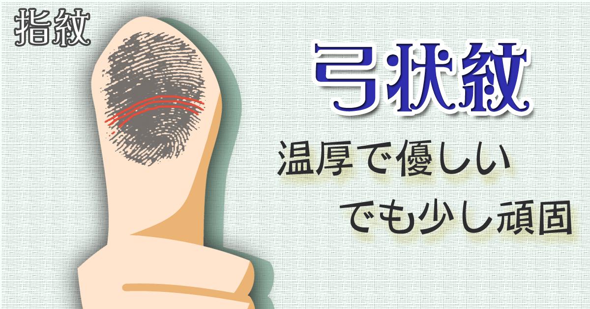 弓状紋_結