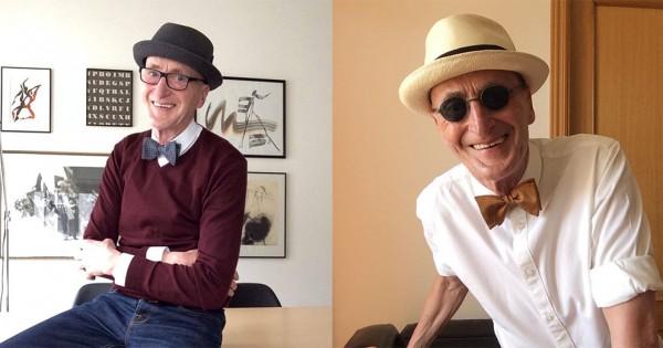 70代に全く見えない!ファッションセンス抜群のおじいちゃんに惚れてまう(画像15枚)