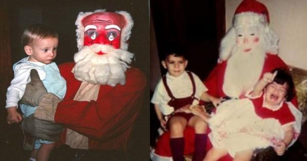 クリスマスの悪夢!子どもを地獄に突き落とす不気味すぎるサンタ12選